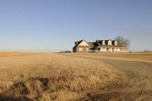 house on plains in oklahoma