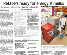Retailers ready for energy stimulus, Pippin Brothers, Lawton, OK