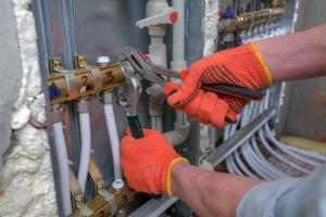 furnace repair work