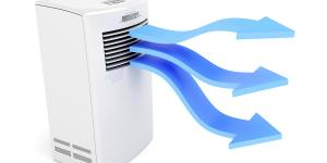 Why is my air conditioning unit not blowing hard?