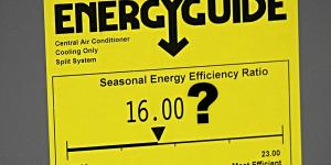 SEER and air conditioning energy efficiency
