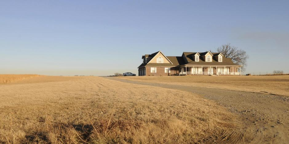 house on plains in oklahoma