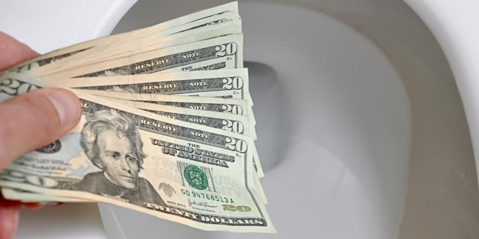 Don't keep throwing money down your toilet! Get yours fixed by the Oklahoma and Texas experts, Pippin Brothers Home Services.